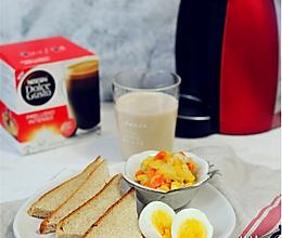 体重控制人群15分钟营养早餐#雀巢营养早餐#的做法