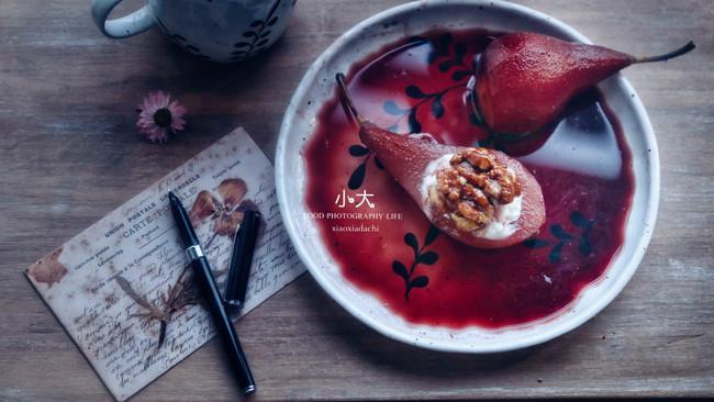 红酒炖梨的做法