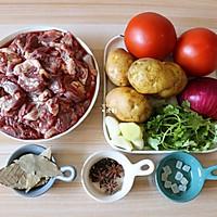 番茄土豆炖牛腩的做法图解1