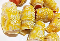 #夏日撩人滋味# 5分钟早餐~手抓饼简直万能的做法