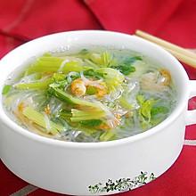 粉丝虾米芹菜汤