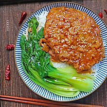 #硬核菜谱制作人# 牛排饭