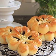 四叶草豆沙面包#急速早餐#