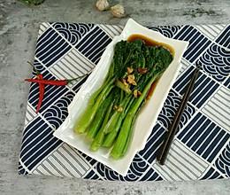 素食主义 杭式葱油菜心的做法