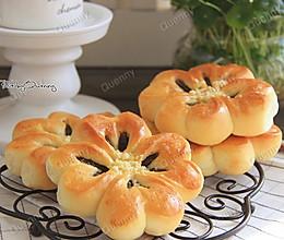 四叶草豆沙面包#急速早餐#的做法