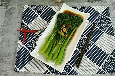 素食主义|杭式葱油菜心