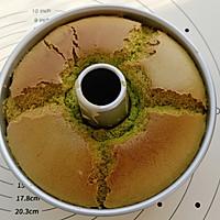 #硬核菜谱制作人#菠菜戚风蛋糕的做法图解12