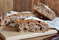 全麦黑麦乡村欧包(无糖,无油)的做法