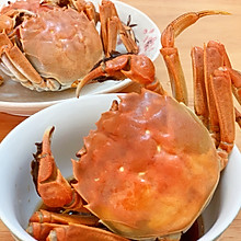 #秋天怎么吃#清蒸螃蟹