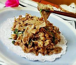 炒羊肉卷的做法