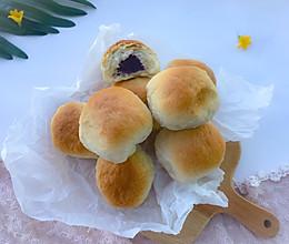 紫薯小面包 #夏天夜宵High起来!#的做法
