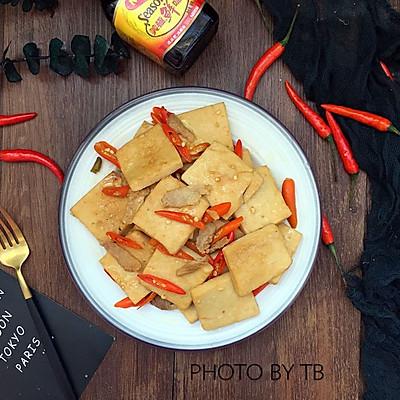 辣炒千叶豆腐