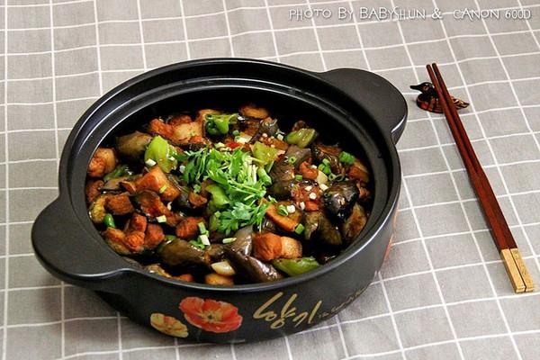 顺家私房菜——茄子烧肉的做法
