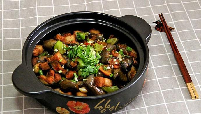 顺家私房菜——茄子烧肉