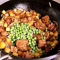 #公主系列#排骨土豆焖饭的做法图解6