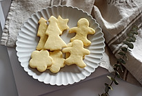 圣诞黄油曲奇饼干的做法