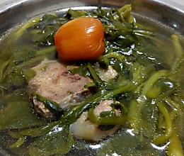西洋菜猪骨汤的做法