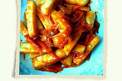 韩式炒年糕(一包年糕酱搞定)
