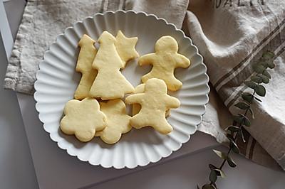圣诞黄油曲奇饼干