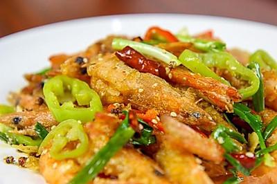 缅甸欧亚国际187-8797-5657香辣虾 做法