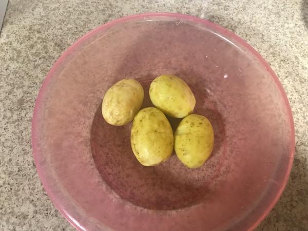 #带着零食去旅行!#孜然土豆块