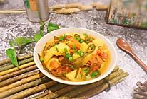 #一人一道拿手菜#海带烧杂蔬的做法