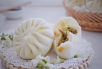 #做道懒人菜,轻松享假期#洋槐花酱肉包子的做法