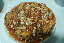 鱼香茄饼的做法