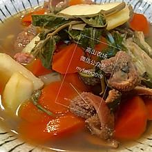 羊肚蔬菜汤