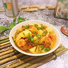 #一人一道拿手菜#海带烧杂蔬