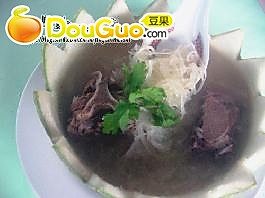 鱼翅瓜汤的做法