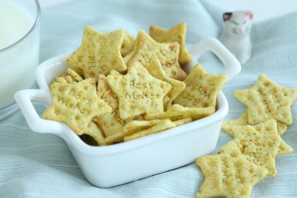 营养蔬菜饼干 宝宝辅食微课堂