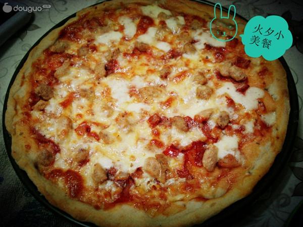 意大利薄饼披萨的做法