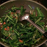 虾仁清炒小白菜的做法图解4