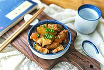 油豆腐冬瓜烧肉#雀巢营养早餐#的做法