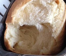 奶油牛奶吐司面包-成功的面包机吐司的做法