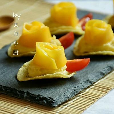 芒果红薯酸奶脆