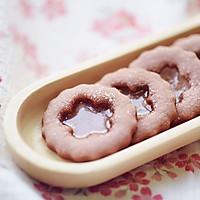 草莓玻璃心饼干的做法图解13