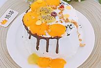六寸芒果生日蛋糕蒸蛋糕的做法