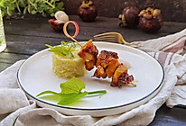 #巨下饭的家常菜#仔姜盐焗鸡肉串的做法
