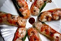 #憋在家里吃什么#越南米纸虾卷*简单易学好玩美味!的做法