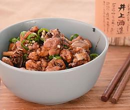 围山公社浏阳菜:茶油煸土鸡的做法