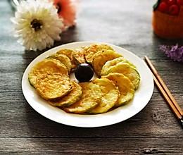 香煎椒盐角瓜饼的做法