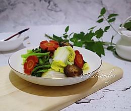 #秋天怎么吃#水油焖菜的做法