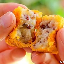 蔓越莓土豆糕 宝宝辅食食谱