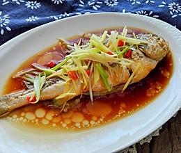 清蒸黄鱼#金龙鱼外婆乡小榨菜籽油 最强家乡菜#的做法