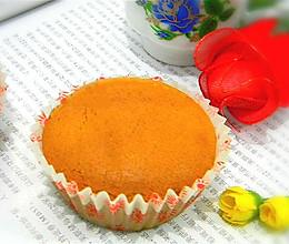 糯米粉纸杯蛋糕#九阳烘焙剧场#的做法