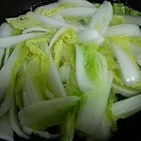 芡汁白菜的做法图解3