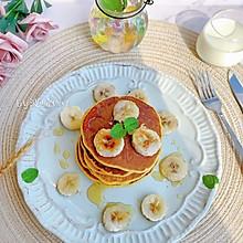 #炎夏消暑就吃「它」#柔软细腻香蕉松饼