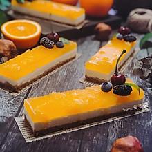 香橙果冻慕斯